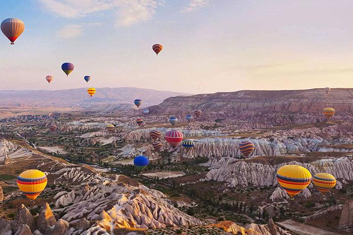 En İyi Balayı Destinasyonu Kapadokya