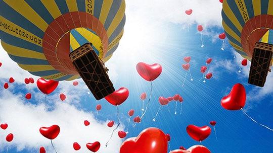 Kapadokya Balon 14 Şubat