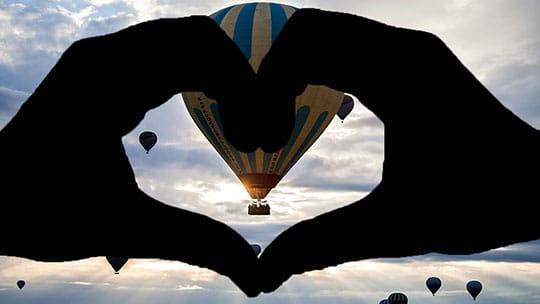 Kapadokya 14 Şubat Sevgililer Günü