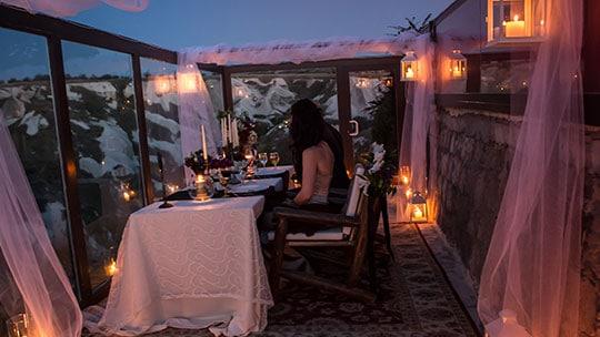 Kapadokya Romantik Akşam Yemeği