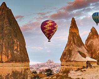 Kapadokya Balayı Balon Turları