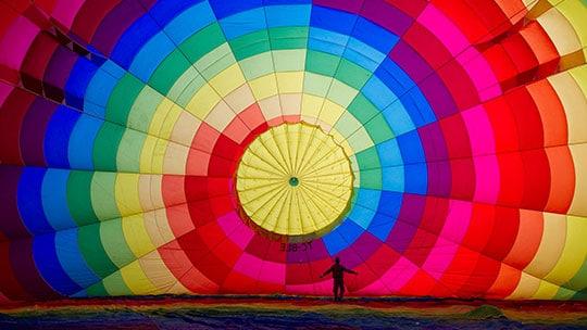 Kapadokya Balayı Balon Turu