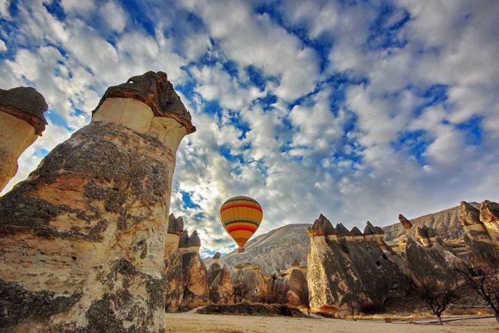 Kapadokya Balayında Peri Bacaları Turu