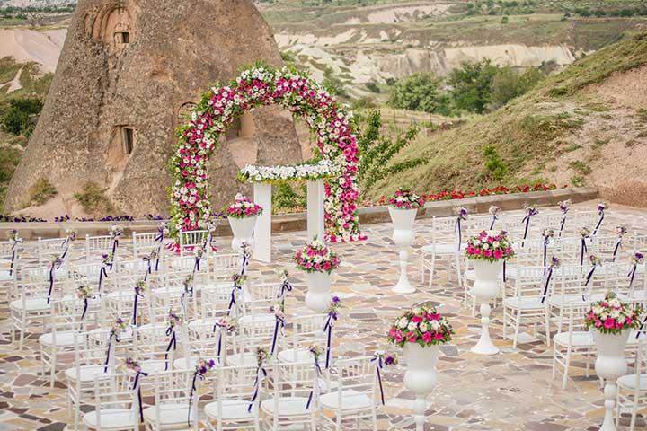 Kapadokya Açık Hava Düğünü