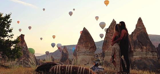 Balayı İçin Mükemmel Kaçamak Kapadokya