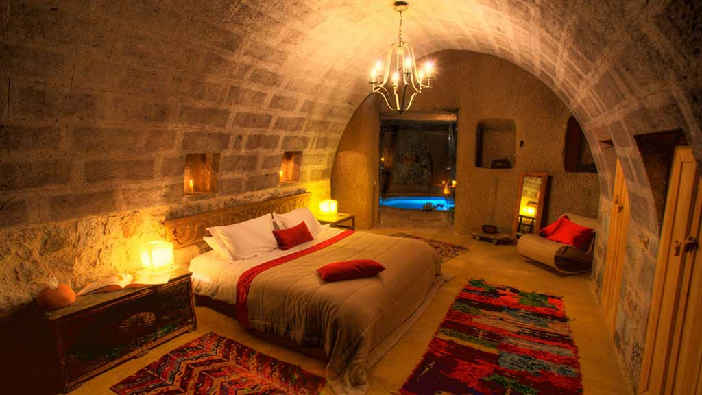 Argos in Cappadocia Balayı Odası