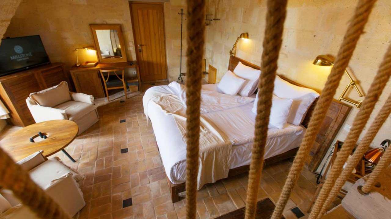 Millstone Cave Otel Balayı Süiti