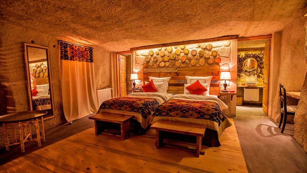 Queens Cave Otel Balayı Odası