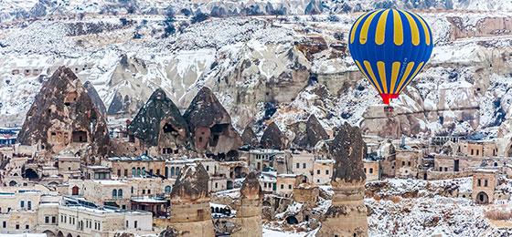 Kapadokyada Kışın Balayı