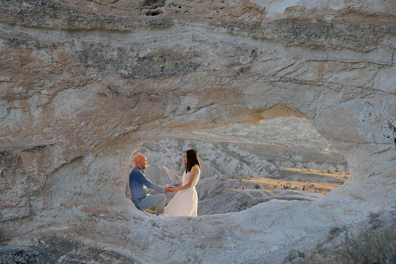 Kapadokya Balayı Anıları Fotoğraf Çekimi